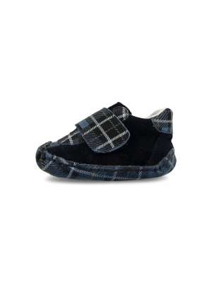 Baby Navy-Blue Plaid
